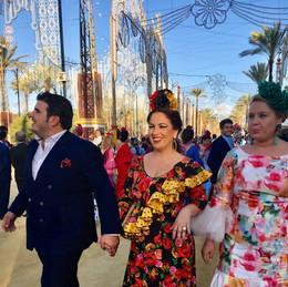 Feria in Jerez Spain