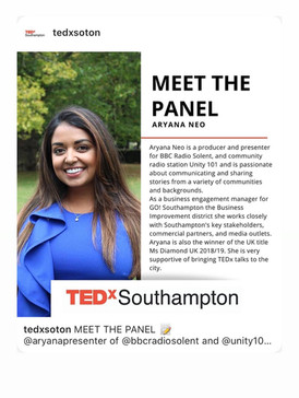 TedX panellist Aryana Neo