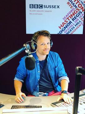 Radio Broadcaster Ben Hillman