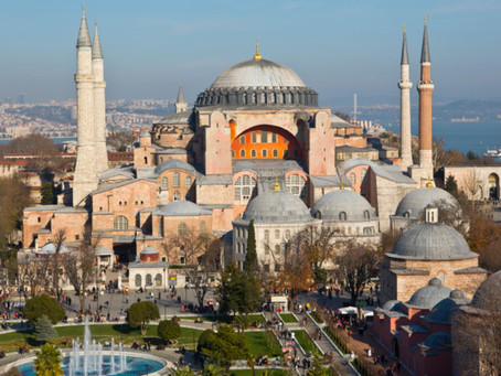 The Hagia Sophia, a cultural landmark!