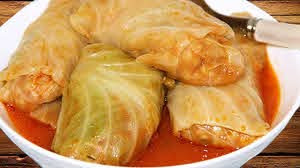 Hungarian Stuffed Cabbage Rolls