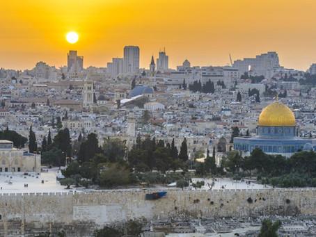 Journey to Jerusalem,'The City of Gold'