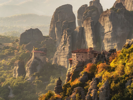 The Majestic Mountains of Meteora