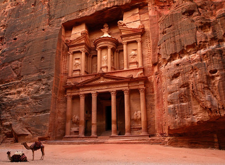 Journey along the Spice Route thru Petra!