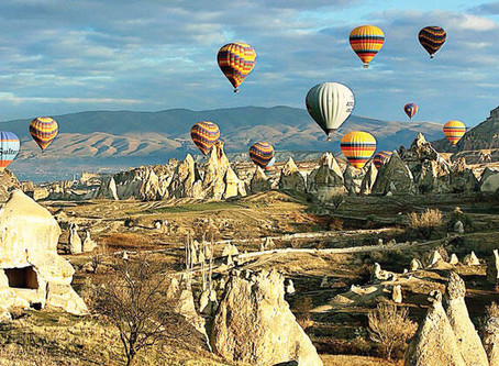 Float with me over Cappadocia