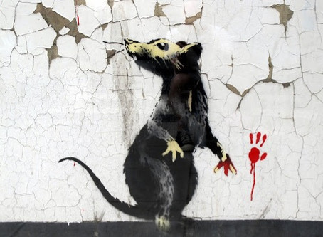 Banksy takes it to the Bank!
