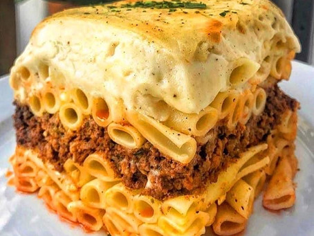 "Pastitsio, aka ""Greek Lasagna"""