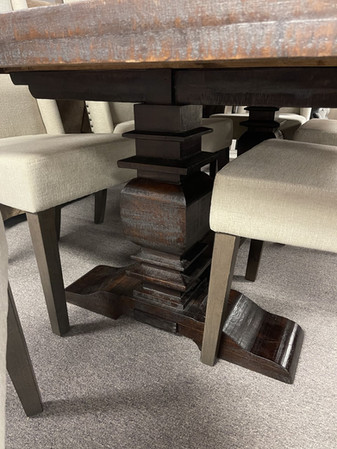 Red River Sanora Table base +6 Chairs $2299.00