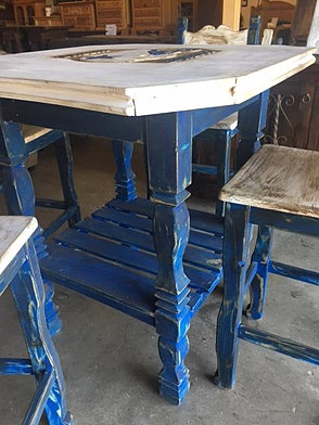 Used furniture cowboy pub table 38x38x4175 699 watchthetrailerfo