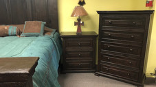 KING RUSTIC BED SET