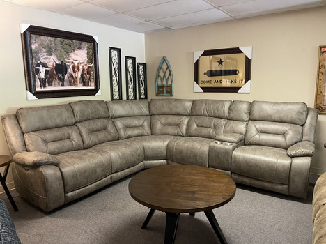Aria Desert Sand Sectional Power was $2999. NOW $2599.00