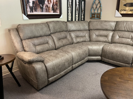 Aria Desert Sand Power Sectional was $2999. NOW $2599.00