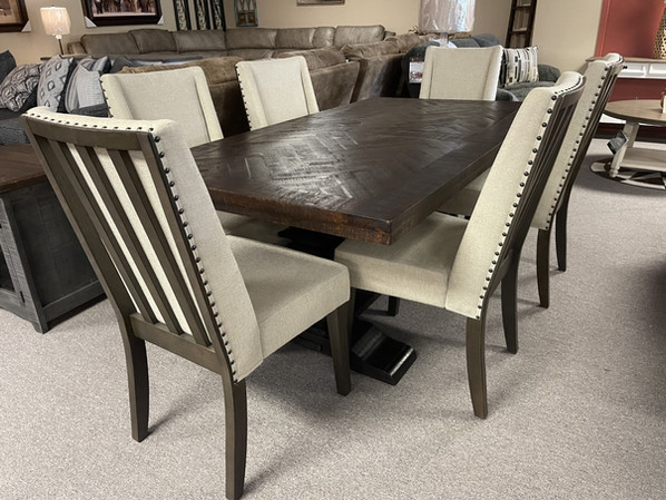 Red River Sanora Table +6 Chairs $2299.00
