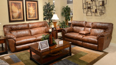 Nolan Power Reclining Sofa & Love Seat (by Cat Napper) Chestnut color. $ 1999.00 (regularly pric