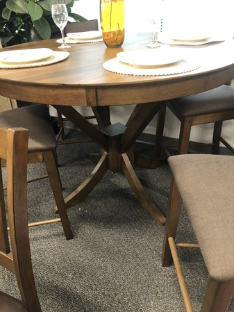 53' Round Counter Ht.table set $1099.00