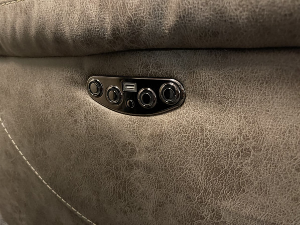 Aria Desert Sand Power Sectional Buttons NOW $2599.00