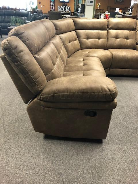 Reclining Sectional 1599.00