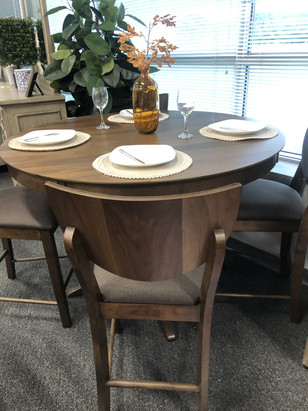 FOA Round Counter Ht. Table set $1199.00