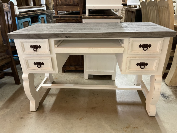 White with Grey Top1 54 desk $599.00