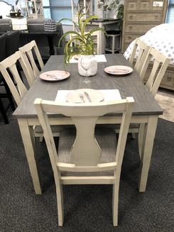 7 pc table set 1099.00