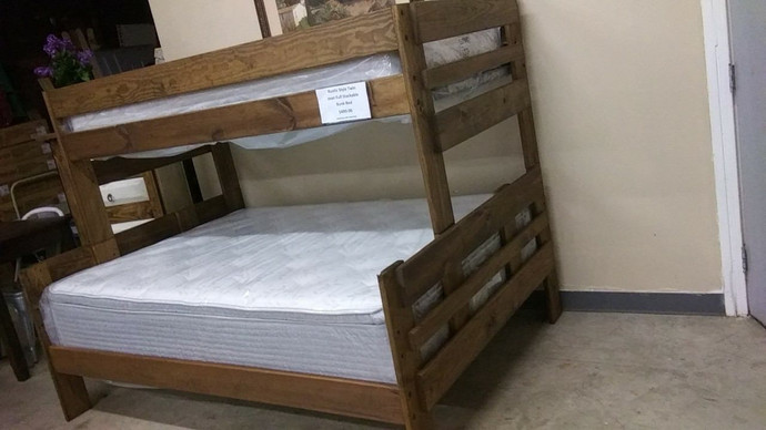 Twin/Full Bunk Bed $499.00