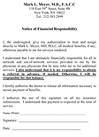 Financial Form