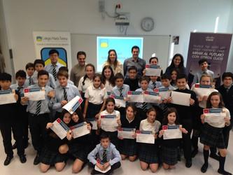 Concurso IoT (internet de las cosas) de Cisco Escuela con los alumnos de 1ESO