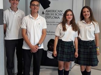 Cuatro alumnos obtienen el Diploma de Honor en el Programa Dual de Bachillerato