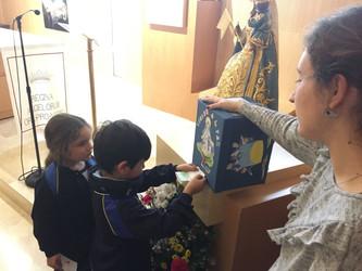 El Colegio María Teresa celebra la fiesta de la Virgen de la Paz
