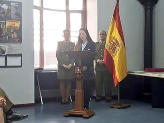 """Cecilia Parra Lucas, primer premio provincial del concurso """"Carta a un Militar Español"""""""