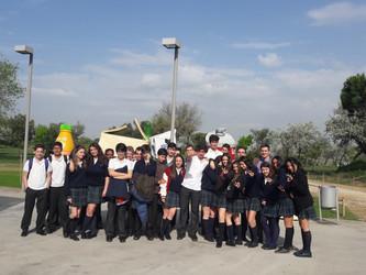 3º y 4º de Secundaria visitan el Parque Tecnológico Valdemingómez