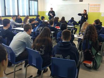 Visita de la Policía Nacional al colegio