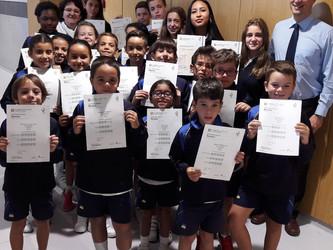 Entrega de los certificados de Cambridge a nuestros alumnos