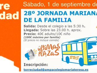 XXVIII Jornada Mariana de la Familia Torreciudad 2018