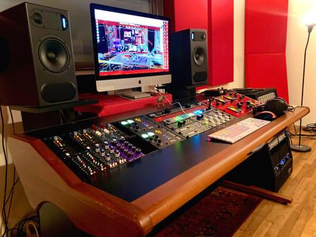 New Desk Studio A