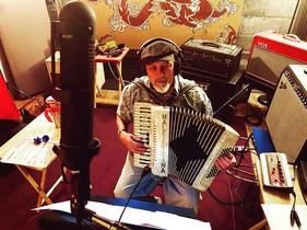 Glenn Hale Recording Accordion