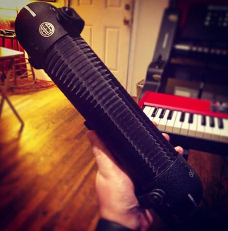 Ribbon mics (AEA) R88 mk2 stereo mic