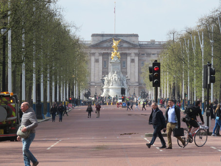 The Mall, London's ceremonial avenue.