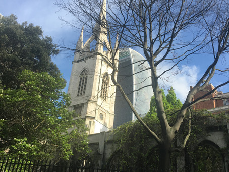 The City of London's glorious churches.