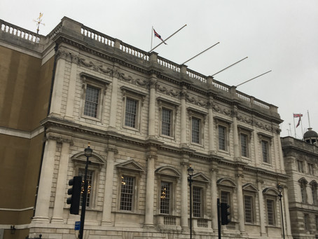 Banqueting House. The last vestige of a forgotten Royal Palace.