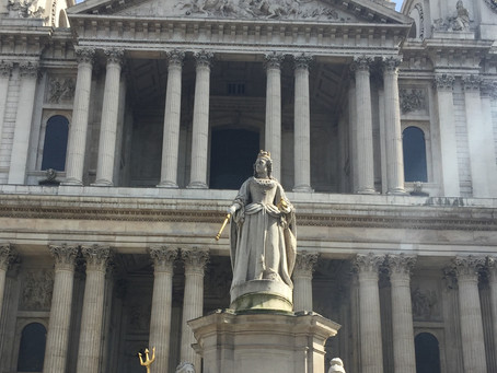 The Favourite statue of Queen Anne?