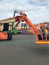 Service Aftersales Parts Trasport EWP Service Onsite Servcing Knuckle Booms