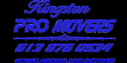Kingston PRO MOVERS text logo  BLUE w sh
