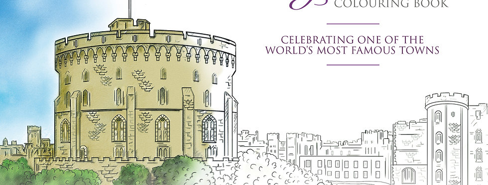 The Royal Windsor Colouring Book