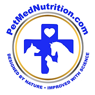 PetMed Nutrition Sticker_LOGO_BlueBRIGHT