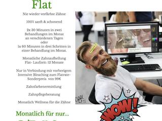 Die erste und echte Bleaching Flat in Deutschland...