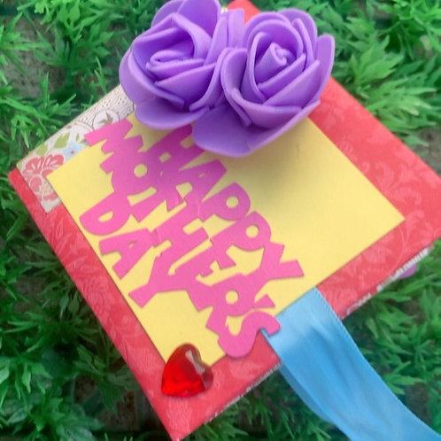 Mini Mother's Day Scrapbooks
