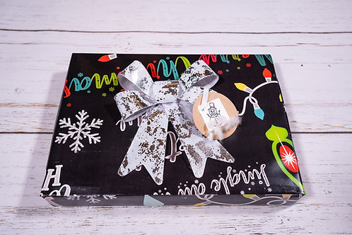 Holiday Chalkboard Flat Wrap