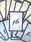 Wedding/Event Table Numbers