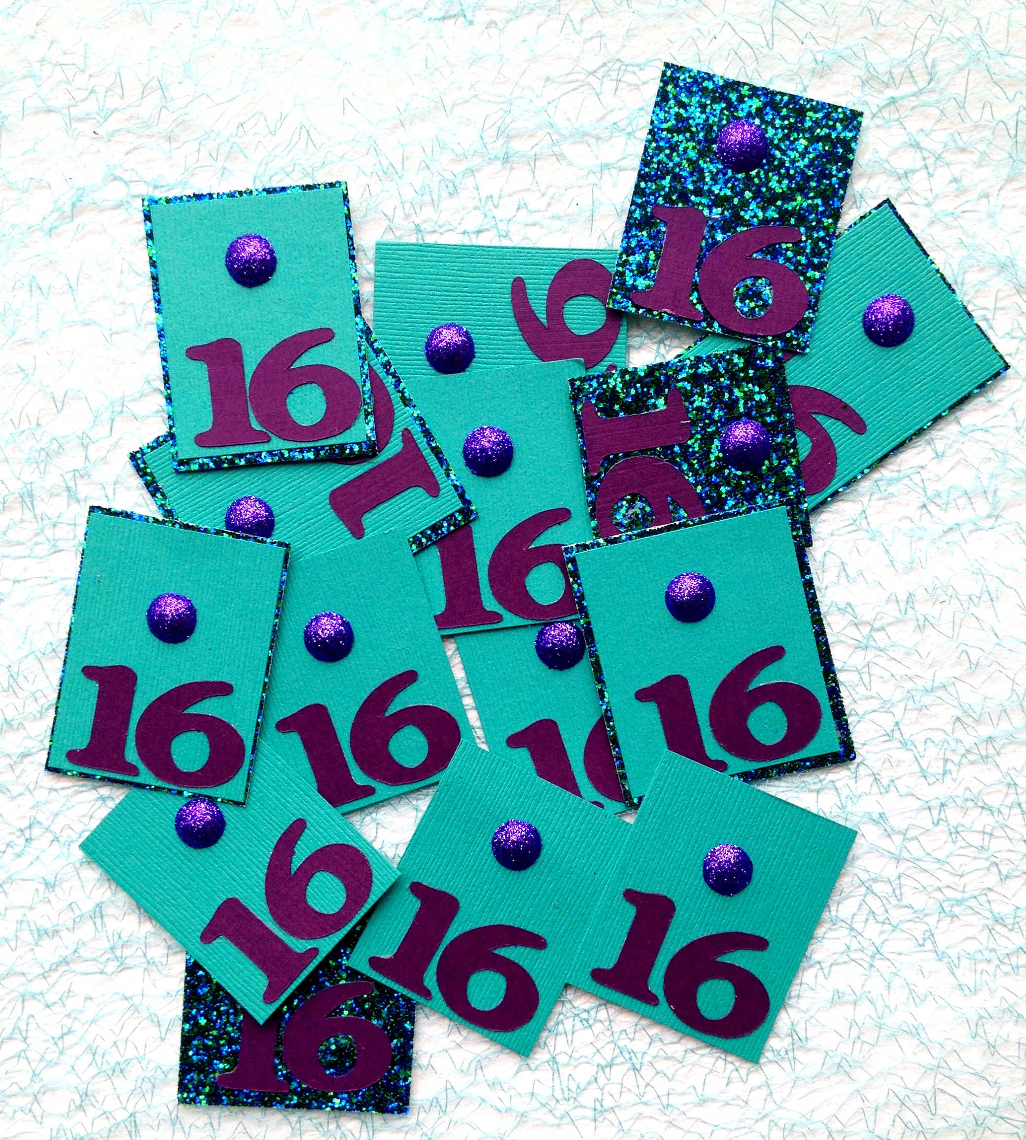 Sweet 16 Confetti